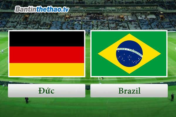 Link Sopcast, link xem trực tiếp live stream Đức vs Brazil đêm nay 28/3/2018 Giao hữu quốc tế