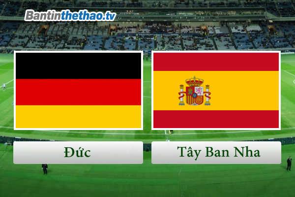 Link Sopcast, link xem trực tiếp live stream Đức vs Tây Ban Nha tối nay 24/3/2018 Giao hữu quốc tế