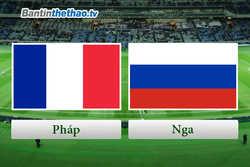 Link Sopcast, link xem trực tiếp live stream Pháp vs Nga tối nay 27/3/2018 Giao hữu quốc tế