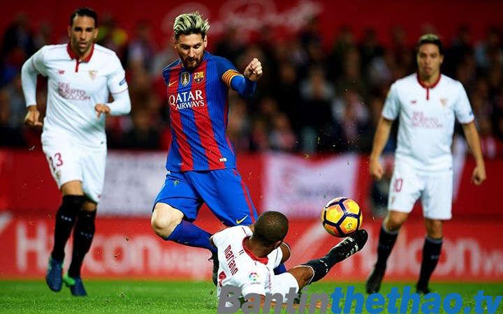 Barca vs Sevilla tối nay 01/04/