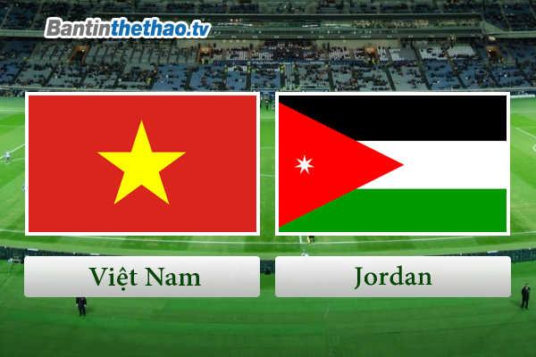 Link sopcast live stream trực tiếp trận Việt Nam vs Jordan vòng loại AFC Asian Cup hôm nay 27/3/2018