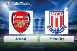 Link xem trực tiếp, link sopcast live stream Arsenal vs Stoke City tối nay 01/04/2018 Ngoại Hạng Anh