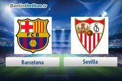 Link xem trực tiếp, link sopcast live stream Barca vs Sevilla tối nay 01/04/2018 La Liga