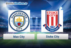 Link xem trực tiếp, link sopcast live stream Man City vs Stoke City hôm nay 13/3/2018 Ngoại Hạng Anh