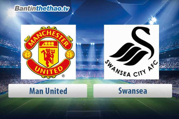 Link xem trực tiếp, link sopcast live stream MU vs Swansea tối nay 31/3/2018 Ngoại Hạng Anh