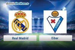 Link xem trực tiếp, link sopcast live stream Real vs Eibar tối nay 10/3/2018 La Liga