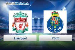 Link xem trực tiếp, link sopcast Liverpool vs Porto đêm nay 7/3/2018 Cúp C1