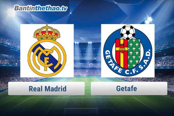 Link xem trực tiếp, link sopcast Real vs Getafe đêm nay 4/3/2018 La Liga