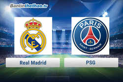 Link xem trực tiếp, link sopcast Real vs PSG đêm nay 7/3/2018 Cúp C1