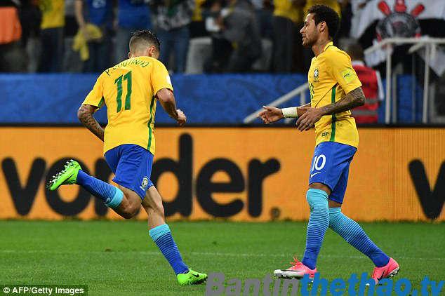 Brazil vs Nga tối nay 23/3/2018 Giao hữu quốc tế