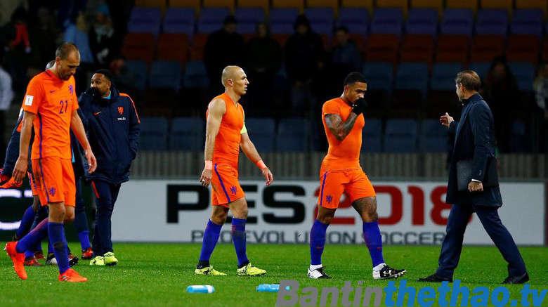 Hà Lan vs Anh đêm nay 24/3/2018 Giao hữu quốc tế