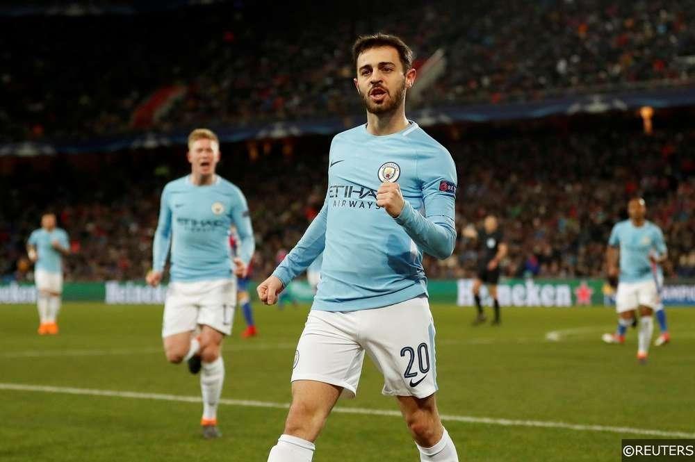 Bernardo Silva đã ghi bàn ở 2 trận gần đây