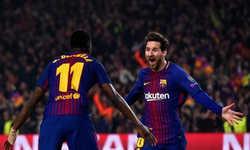 Messi đang sắm cả hai vai trò kiến tạo và ghi bàn ở Barca