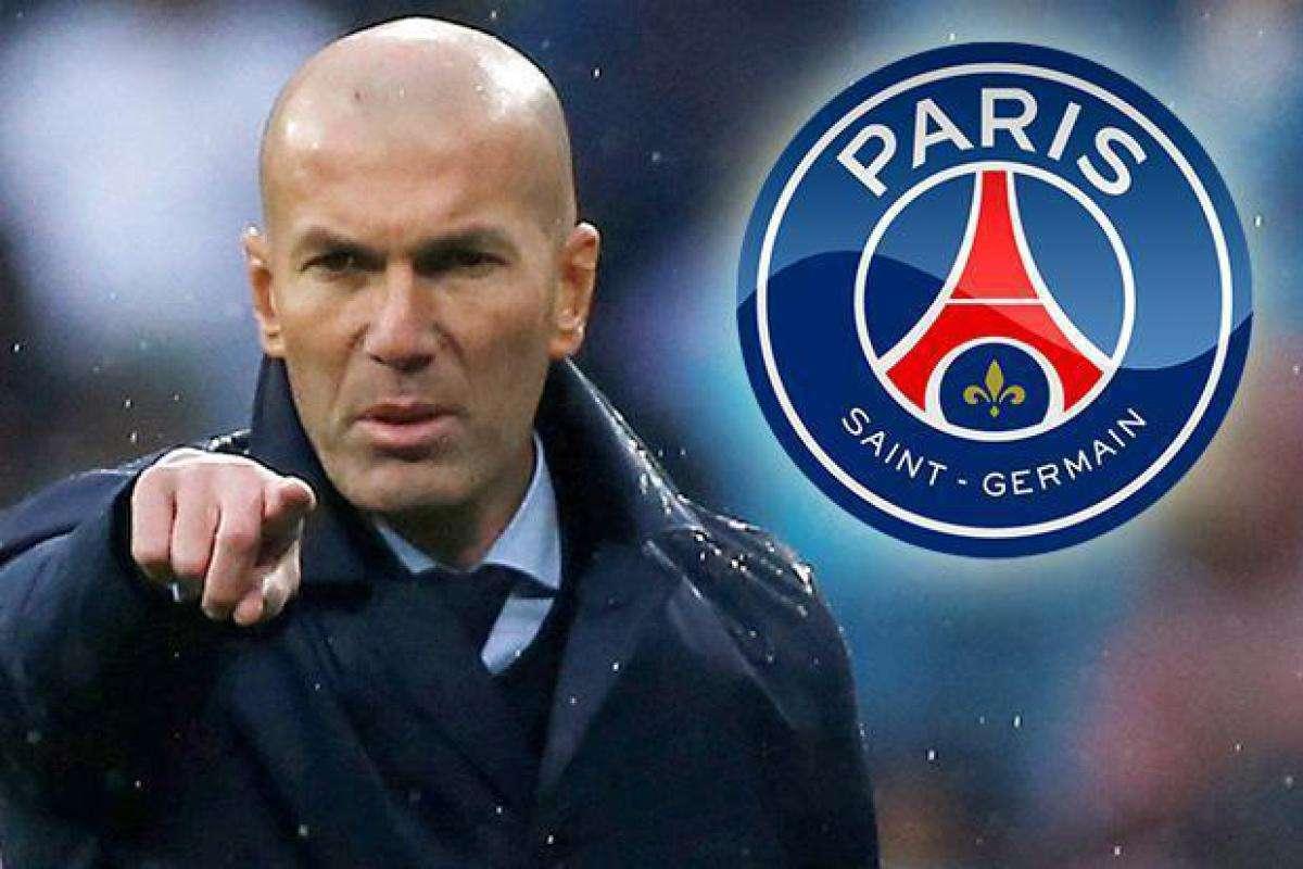 Zidane cân nhắc rời Real Madrid đến PSG