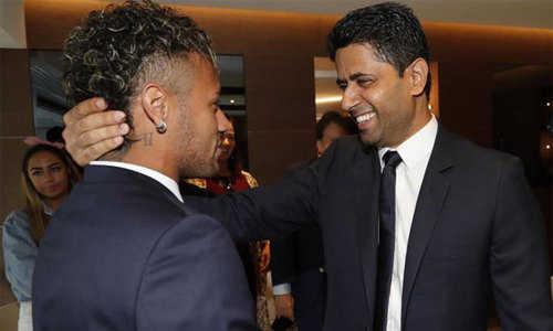 Chủ tịch PSG, Al Khelaifi đích thân đến Brazil thăm Neymar