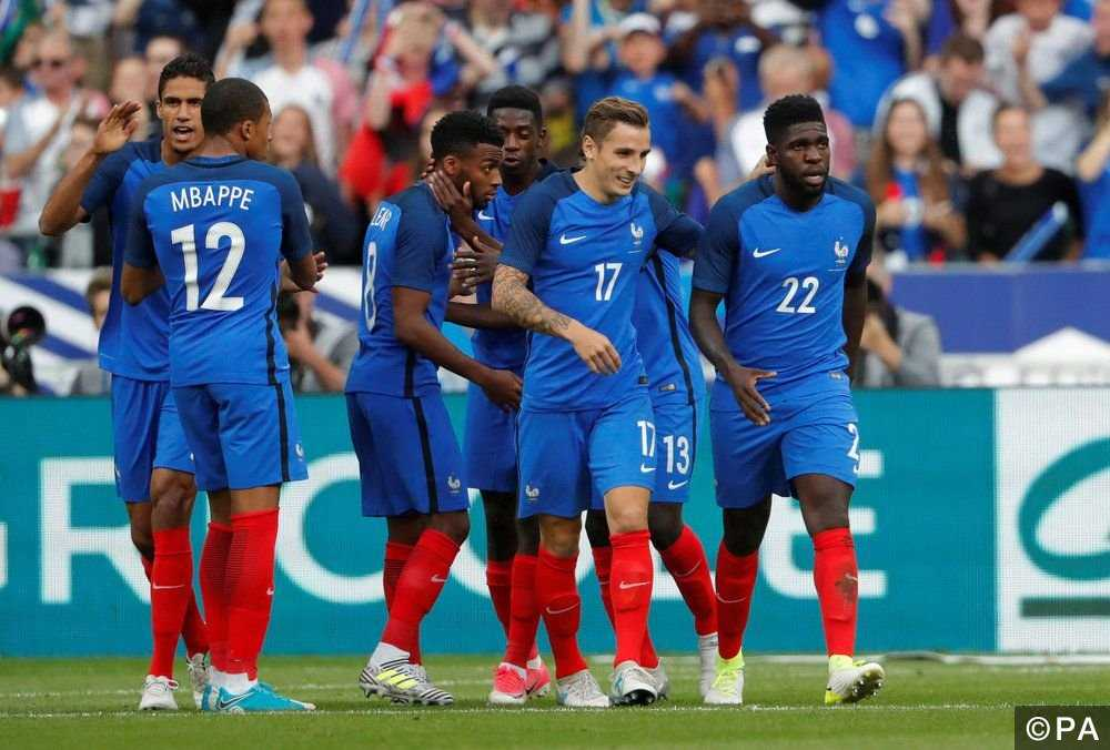 Nhận định Nga vs Pháp: 23h50 ngày 27-3, Nga và Pháp đều lo lắng về phong độ