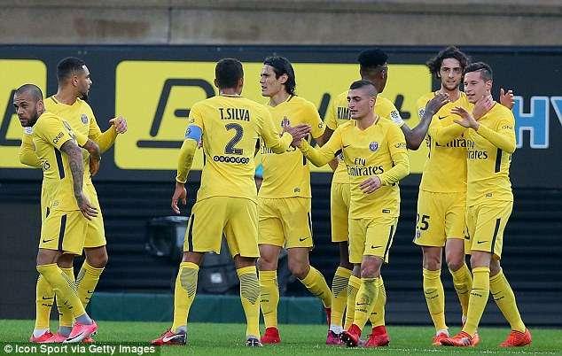 PSG đang thể hiện sức mạnh tuyệt đối tại Ligue 1