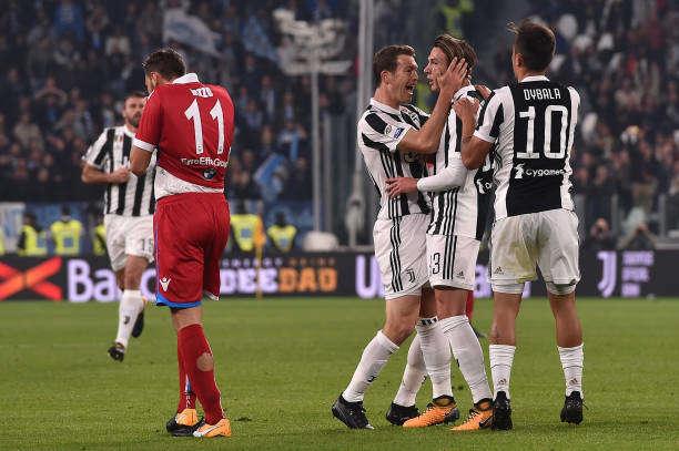 Tinh thần thi đấu tuyệt vời cũng khó giúp Spal cản bước Juventus