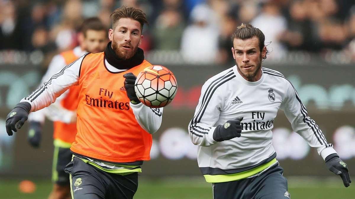 Ramos dẫn đầu nhóm cô lập Bale