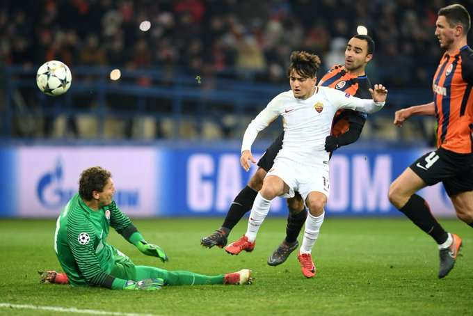 Roma đã thua ở lượt đi