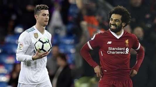Ronaldo và Salah đang có phong độ tốt