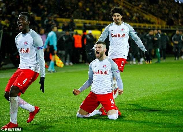 Salzburg đang là hiện tượng thú vị tại Europa League mùa này