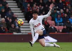 Son Heung-min xuất sắc, Tottenham đại thắng trước Bournemouth