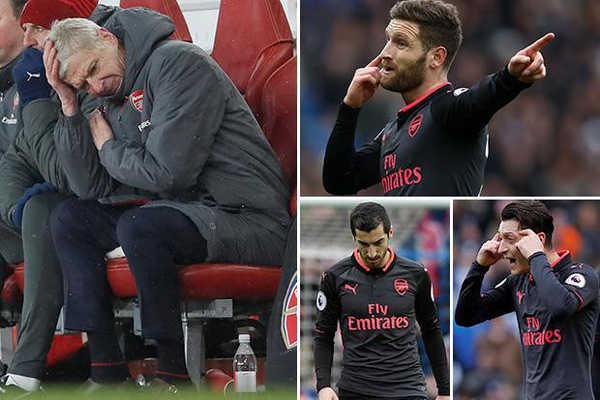 """Phòng thay đồ của Arsenal """"nổi sóng"""". Tâm điểm là Ozil, Mkhitaryan và Mustafi"""