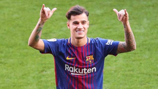 Coutinho có thể thay thế Neymar