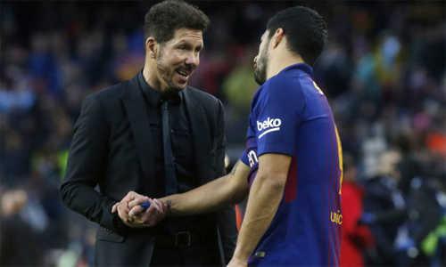Simeone: 'Nếu Messi mặc áo Atletico, chúng tôi đã đánh bại Barca'