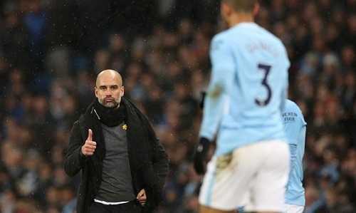Guardiola muốn các học trò tập trung cho việc vô địch thay bằng phá những kỷ lục