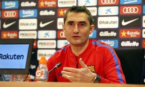 Valverde lo lịch đấu gây bất lợi cho Barca trước đại chiến với Atletico