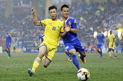 Sao U23 Việt Nam đá chính, SLNA vẫn thất bại trên sân nhà