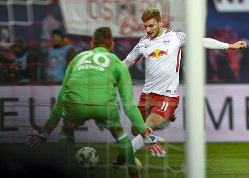 Werner ghi bàn quyết định cho Leipzig