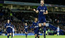Kane lập công, Tottenham vẫn chia điểm tiếc nuối