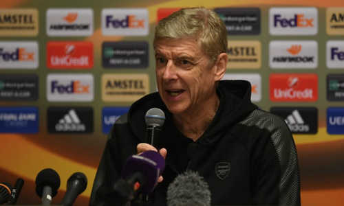 HLV Wenger: 'Barca bị loại là tấm gương cho Arsenal'