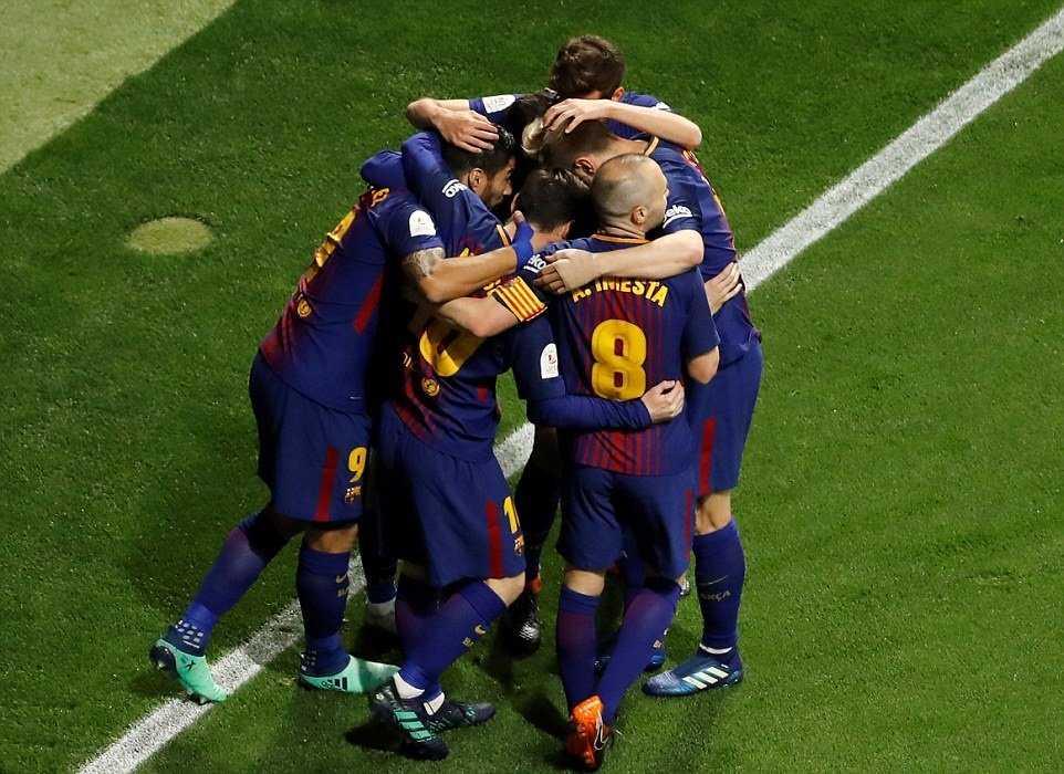 Hủy diệt Sevilla, Barcelona lên ngôi vương tại Madrid