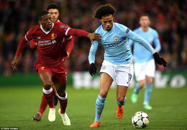 Thống kê trận Man City - Liverpool: Man City quá tệ