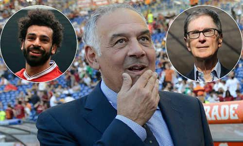 Ông chủ Liverpool từng cho rằng Liverpool đã trả quá nhiều tiền khi mua tiền đạo Ai Cập từ AS Roma