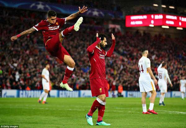 Rực sáng trước Roma, Salah xô đổ hàng loạt kỷ lục