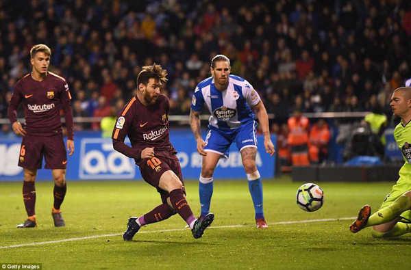 Messi lập hattrick, Barca lên ngôi vô địch La Liga