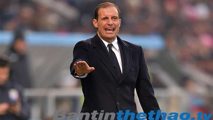 Allegri lo lắng cho Juve trước trận đấu với Napoli cuối tuần này