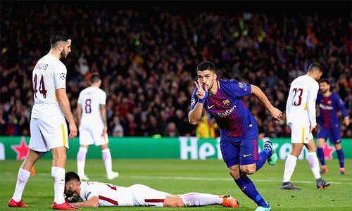 Đè bẹp Roma, Barca đặt một chân vào bán kết C1