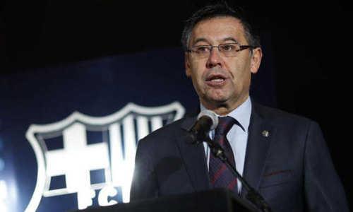 Chủ tịch Barca nói gì sau khi bị 'hất cẳng' khỏi C1 trên đất Ý?