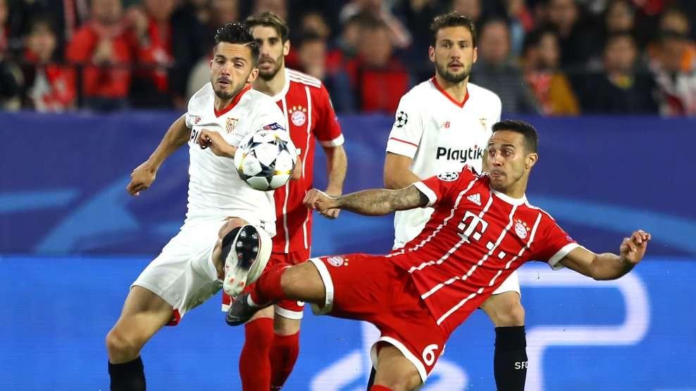 Bayern cần có sự chuẩn bị tốt nhất về tinh thần và lực lượng cho trận lượt về gặp Sevilla