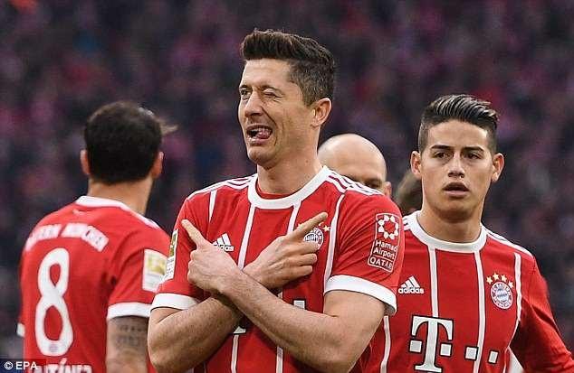 Bayern Munich dễ dàng hạ gục Dortmund với tỷ số 6-0
