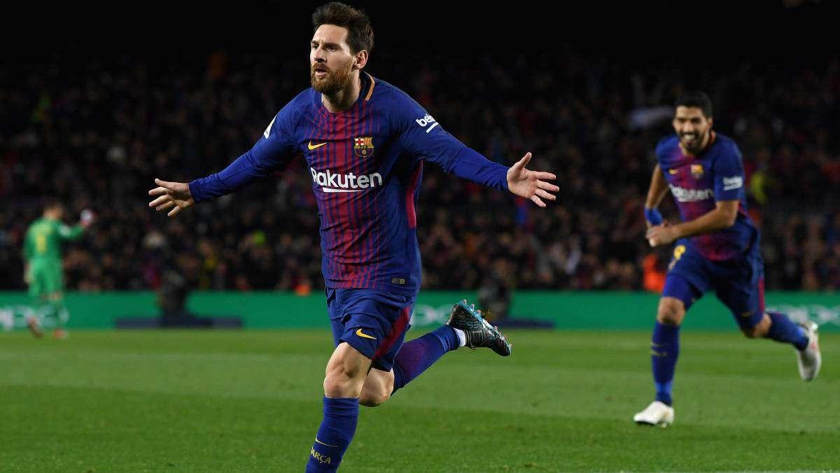 Messi cùng các đồng đội đang hướng tới chức vô địch La Liga và Cup Nhà Vua năm nay