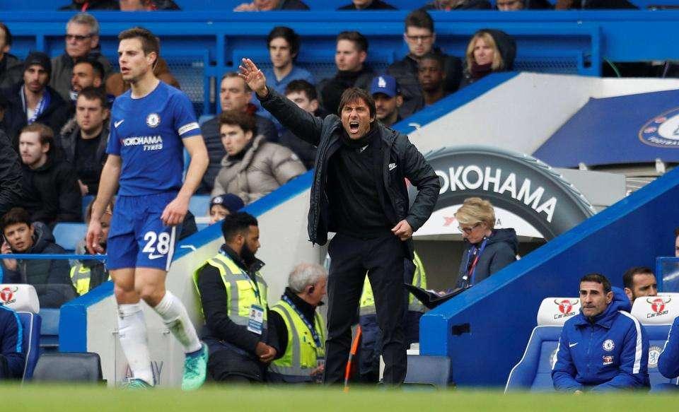 Conte tức giận khi Chelsea để thua ngược