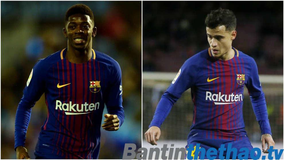 Coutinho và Dembele sẽ có danh hiệu đầu tiên với Barca ở Cúp Nhà Vua?