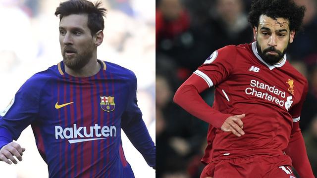 Messi và Salah là hai ứng cử viên nặng ký giành Chiếc giày vàng châu Âu